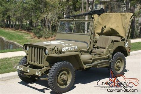 wwii jeep willys wwii willys jeep ford gpw frame off restoration