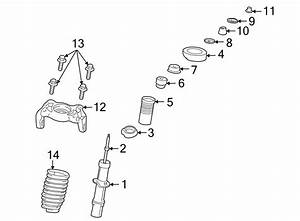 Dodge Stratus Spacer  Strut Collar  Sedan   Suspension