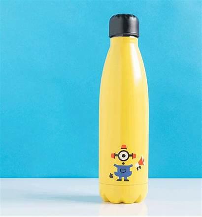Minions Water Bottle Bee Metal Gifts Merch
