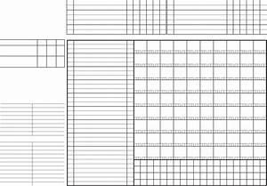 download blank baseball scorecard template for free tidyform With blank scorecard template