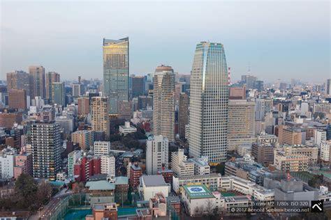 tokyo tower panorama benoa  japan