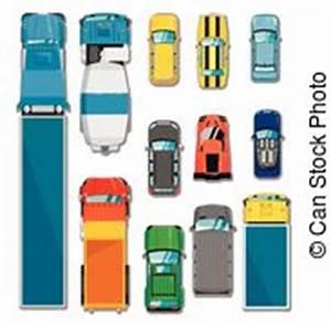Voiture Vu De Haut : ensemble camions voitures vecteur vue haut d taill ensemble top down camions voitures ~ Medecine-chirurgie-esthetiques.com Avis de Voitures