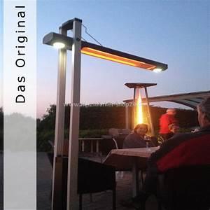 alpina infrarot heizstrahler bali mit schwenkarm With infrarot heizstrahler terrasse test