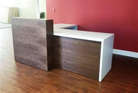 home design do s and don ts wood l shaped reception desk home design l shaped