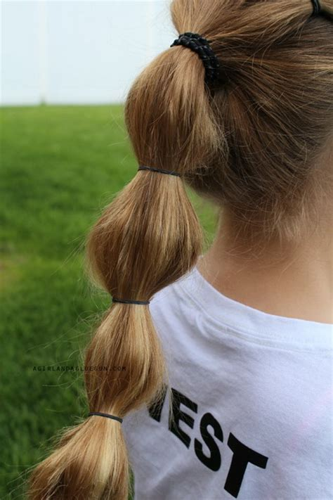 hairstyles  rubber bands