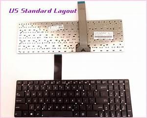 New Us Layout Keyboard For Asus K55vj K55vs K55a Bbl4 K55n