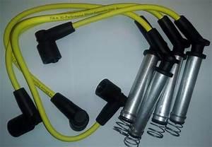 Cables De Bujia Para Chevy Corsa Y Tornado Amarillo 7 Mm