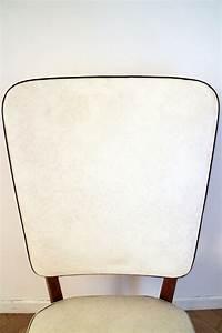 Chaise Blanche Pas Cher : chaise vintage scandinave blanche et bois pas cher luckyfind ~ Teatrodelosmanantiales.com Idées de Décoration