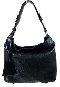 louis vuitton black lambskin shoulder bag italy ebay