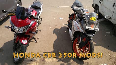 Cbr 250r Modification by Honda Cbr 250r Modifications