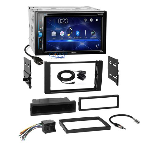 Pioneer Dvd Din Stereo Dash Kit Harness For