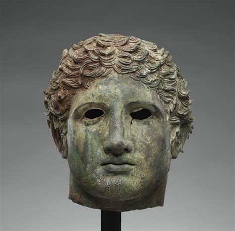 Head from a Statue of a Youth (Getty Museum)