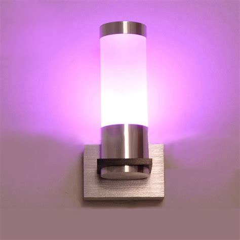 tanbaby 3w modern wall sconce wall mounted acylic led wall light ac85 265v for bedroom dining