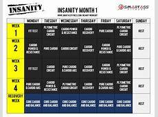 Insanity Max 30 Calander New Calendar Template Site
