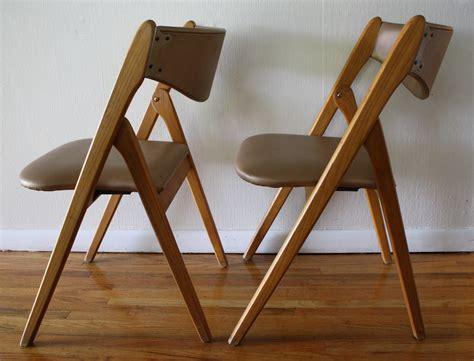 Mid Century Modern Coronet Folding Chairs