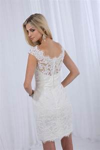 brand new short lace wedding reception dress wedding With short white wedding reception dress