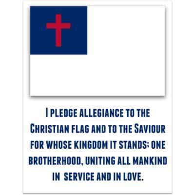 pledge   christian flag ministry  children
