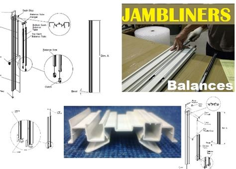 peachtree crestline weathervane weather shield windsor pgt window sash balances jambliners