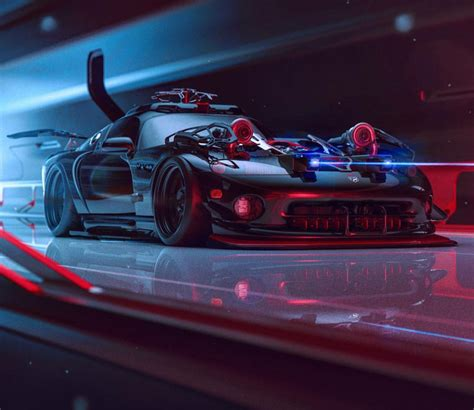 Cyberpunk Viper By Khyzyl Saleem