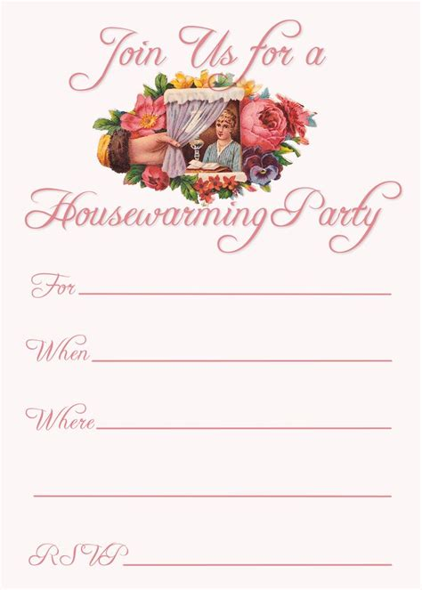 housewarming cards to print free printable housewarming party invitations