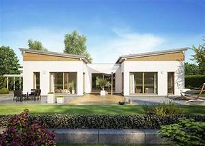 Bungalow Mit Atrium : bungalow fokus von kern haus mit schmetterlingsdach ~ Indierocktalk.com Haus und Dekorationen