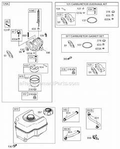 5 Hp Briggs And Stratton Carburetor Linkage Diagram