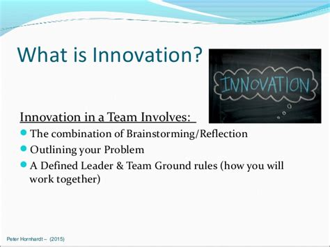 Innovation At Work (slides