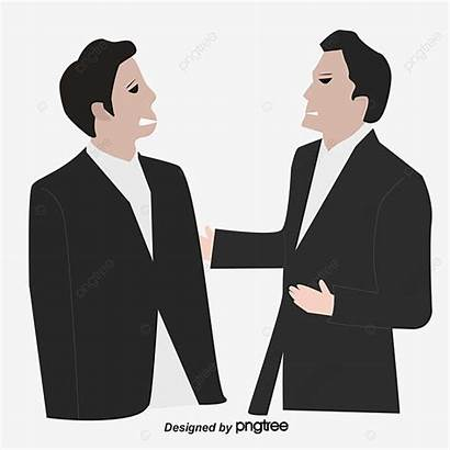 Businessman Angry Confrontation Clipart Pngtree