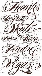Tattoo Script Writing Fonts images