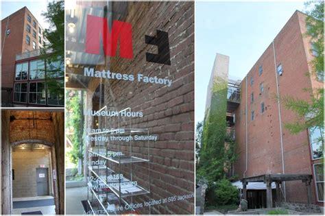 mattress factory museum a mattress factory wedding jpc event