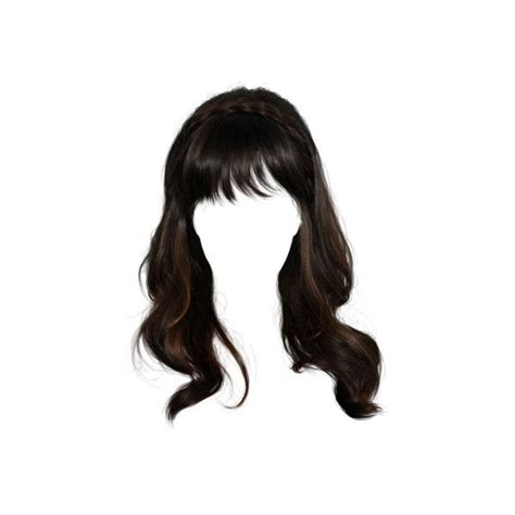 Tube Perruque Liked On Polyvore Featuring Hair, Wigs