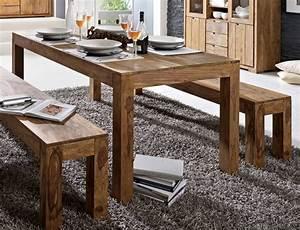 Esstisch 200x100 Ausziehbar : whitney massivholz esstisch sheesham gebeizt 200x100 cm ~ Orissabook.com Haus und Dekorationen