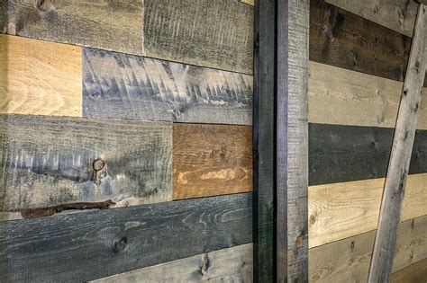 barn wood accent wall   box poco building supplies