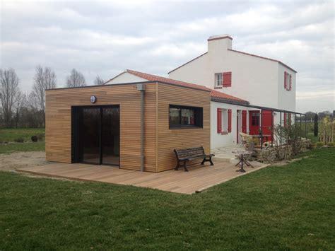 extension en bois d une maison agrandir sa maison avec une extension en bois bienchezmoi