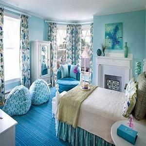 Teenage girl bedroom ideas, girls blue bedroom tumblr girl ...