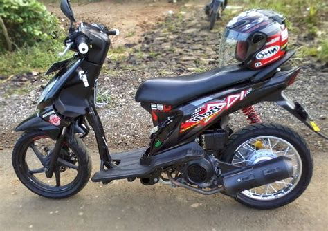 Modif Motor Mio Sederhana by Modifikasi Motor Beat Sederhana