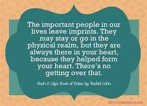 Rachel Cohn Quotes. QuotesGram