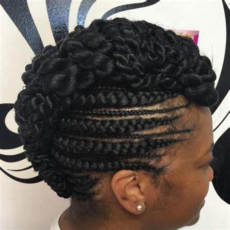20 gorgeous ghana braids for an intricate hairdo in 2019