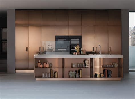 cuisine et noir italia ambiente 2 fitted kitchens from arclinea architonic