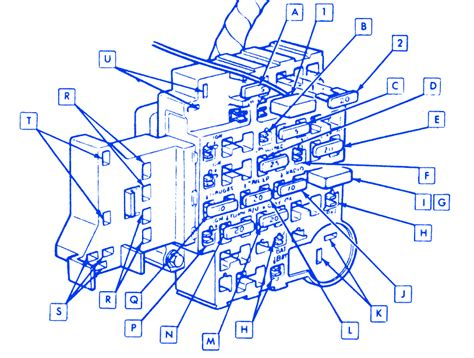 1991 Cobalt Fuse Box by Chevy Caprice 1987 Fuse Box Block Circuit Breaker Diagram