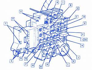Chevy Caprice 1987 Fuse Box  Block Circuit Breaker Diagram