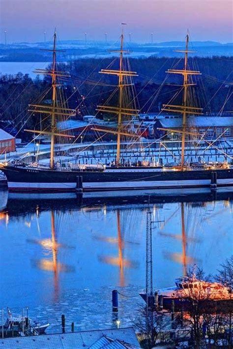 germany ships rivers reflections bing wallpaper