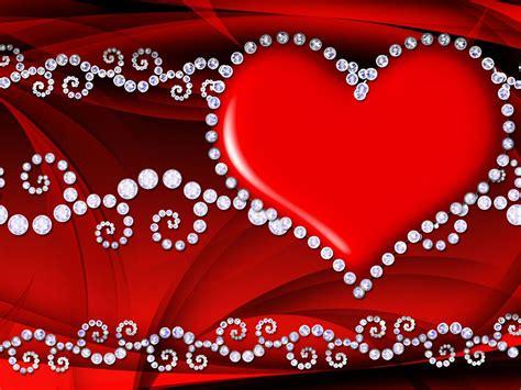 red love heart hd wallpaper  wallpaperscom