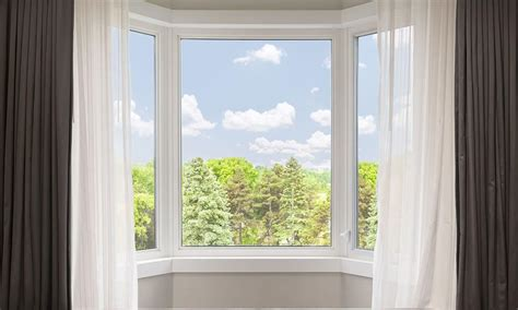 window drapes the 4 best ways to hang bay window curtains overstock