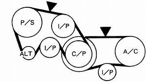 2006 Nissan Altima Serpentine Belt Diagram