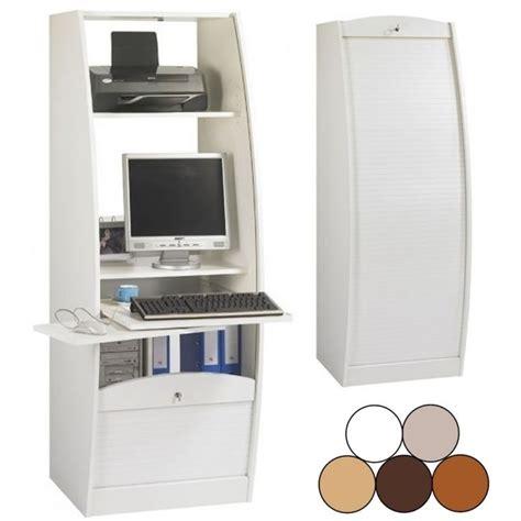 meuble bureau fermé meuble fermé pour ordinateur bureau pour ordinateur pas