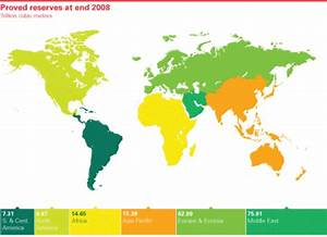 Highest Natural Gas Proved Reserves by Countries