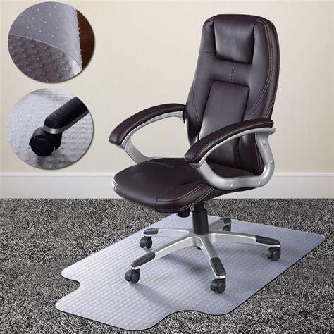 desk chair floor mat for carpet pvc home office chair floor mat studded back with lip for