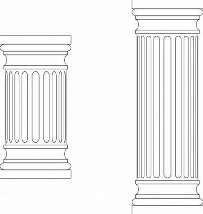 Pillar Marble Column Columns Pillars Clip Clipart