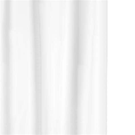 Plain White Shower Curtain - white shower curtain byretech ltd